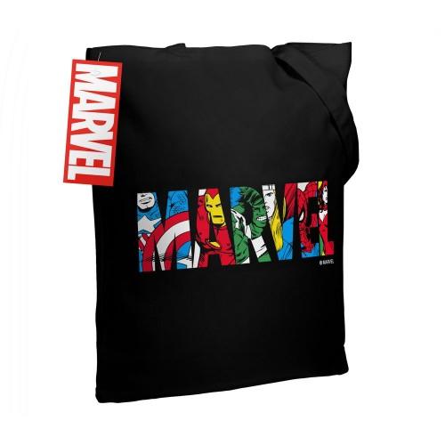 Холщовая сумка Marvel Avengers, черная