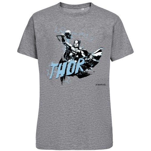 Футболка Thor, серый меланж