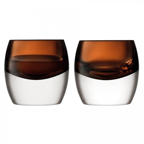 Набор бокалов Whisky Club, коричневый