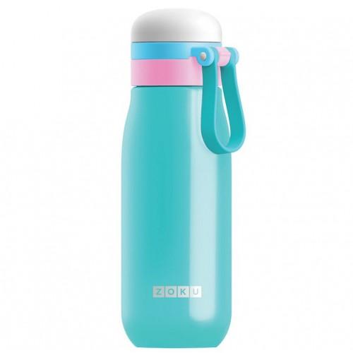 Вакуумная бутылка для воды Zoku, бирюзовая
