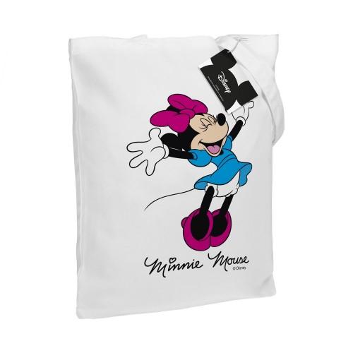 Холщовая сумка «Минни Маус. So Happy!», белая