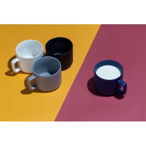 Чашка Jumbo, матовая, белая