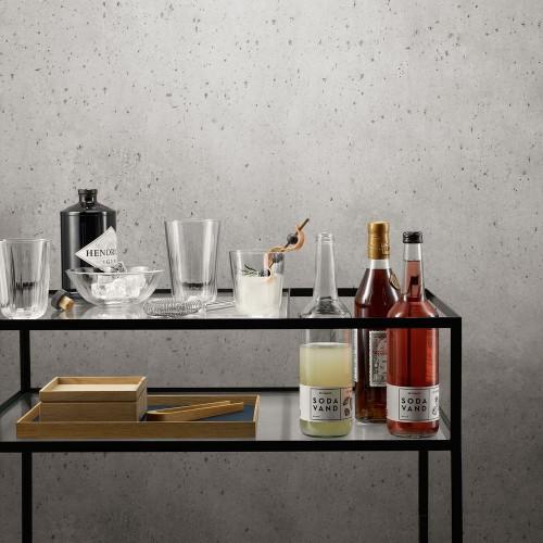 Набор средних граненых стаканов Table