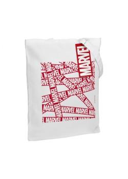 Холщовая сумка Marvel, белая