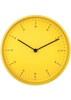 Часы настенные Cleo, желтые