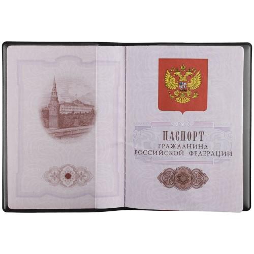 Обложка для паспорта Dorset, черная