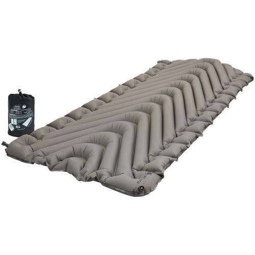 Надувной коврик Static V Luxe, серый