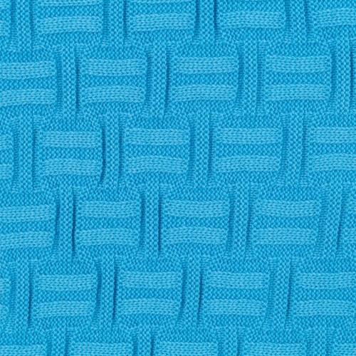 Плед Biscuit, ярко-голубой