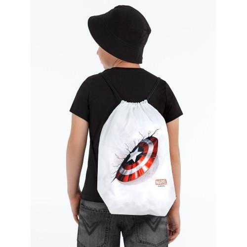 Рюкзак «Щит Капитана Америки», белый