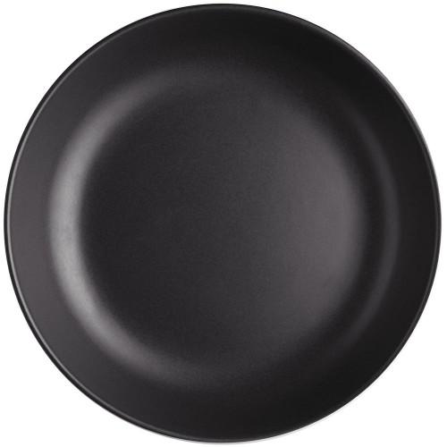 Тарелка глубокая Nordic Kitchen, черная