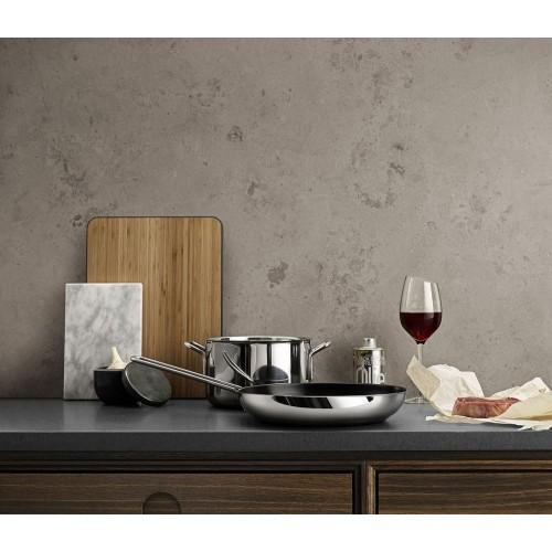 Сковорода Stainless Steel 24 с антипригарным покрытием