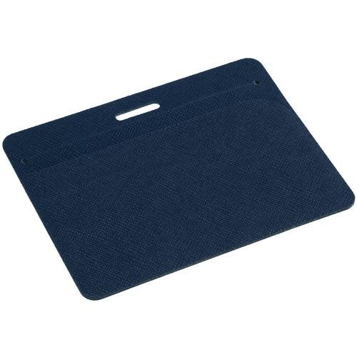 Чехол для карточки с ретрактором Devon, синий