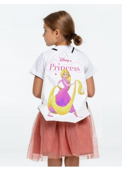 Рюкзак «Принцессы. Рапунцель», белый