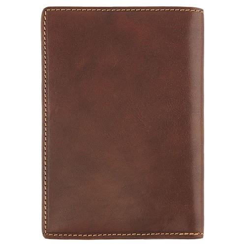 Обложка для паспорта Italico, коричневая