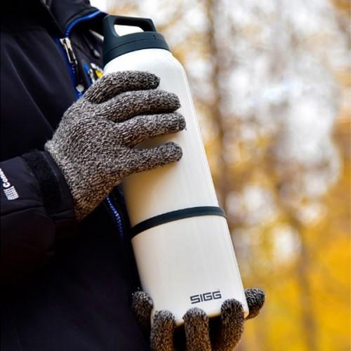 Термобутылка с чашкой Hot & Cold 750, стальная