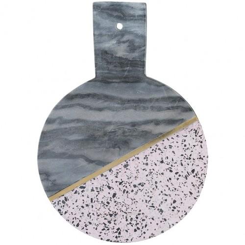 Доска сервировочная Elements, мрамор и камень