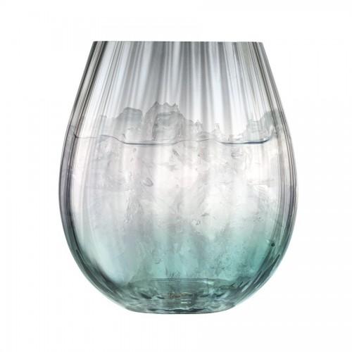 Набор стаканов Dusk, зеленый с серым