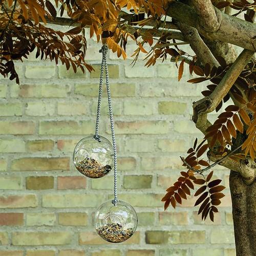 Набор подвесных кормушек для птиц Glass Bird Feeders