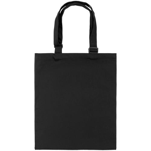 Сумка для покупок с регулируемыми ручками Leta, черная