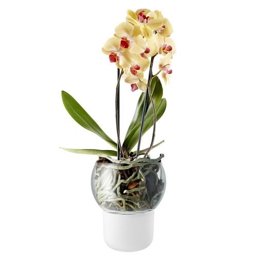 Горшок для орхидеи с функцией самополива Orchid Pot, большой, белый