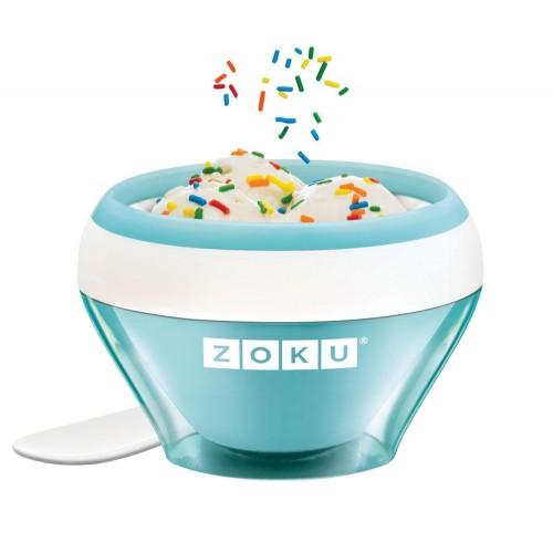 Мороженица Ice Cream Maker, голубая