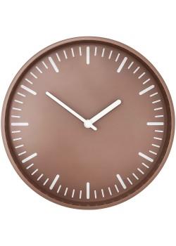 Часы настенные Bijou, серо-бежевые