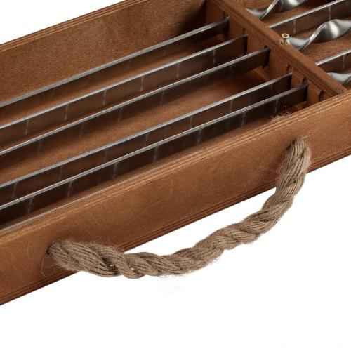 Набор шампуров в подвесном пенале Roast Coast