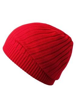 Шапка Stripes, красная (алая)
