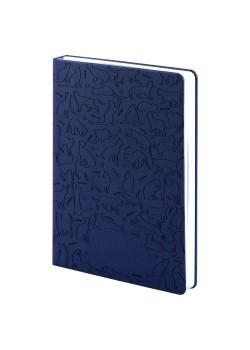 Ежедневник «Эрмитажные коты», синий