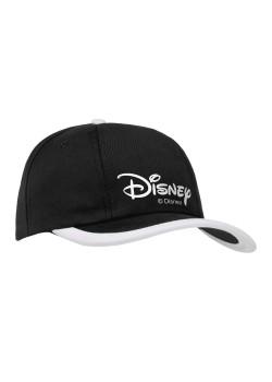 Бейсболка Disney, черная с белым