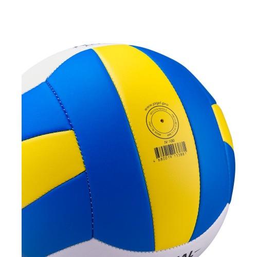 Волейбольный мяч Active, голубой с желтым