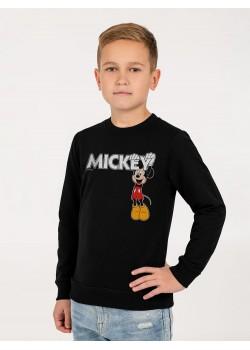 Свитшот детский Mickey, черный