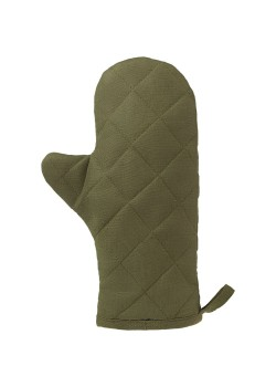 Прихватка-рукавица детская «Младший шеф», темно-зеленая