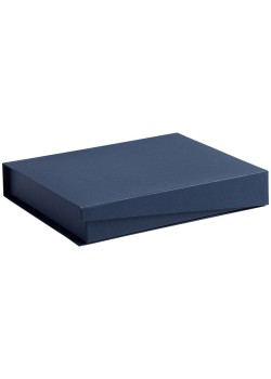 Коробка Duo под ежедневник и ручку, синяя
