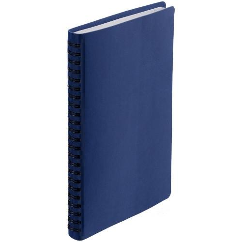 Ежедневник Twill, недатированный, синий