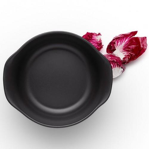 Миска с ручками Nordic Kitchen, малая, черная
