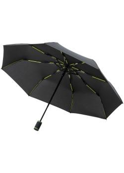 Зонт складной AOC Mini с цветными спицами ver.2, зеленое яблоко