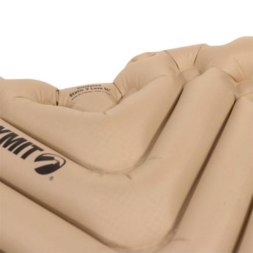 Надувной коврик Insulated Static V Luxe SL, песочный