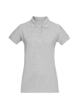 Рубашка поло женская Virma Premium Lady, серый меланж