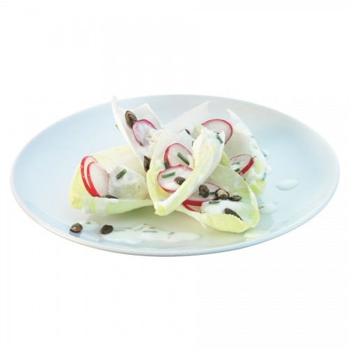 Набор десертных тарелок Dine, белый