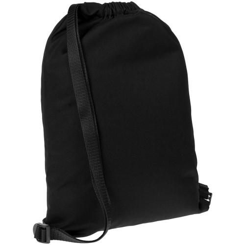 Рюкзак Nock, черный с черной стропой