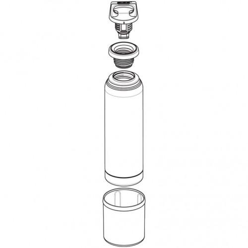 Термобутылка с чашкой Hot & Cold One 750, стальная