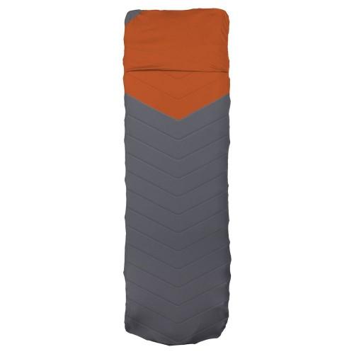 Чехол для туристического коврика Quilted V Sheet, серо-оранжевый