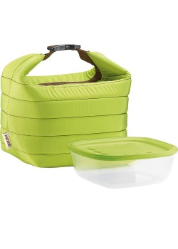 Набор Handy: термосумка и контейнер, малый, зеленый