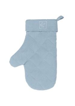 Прихватка-рукавица Feast Mist, серо-голубая
