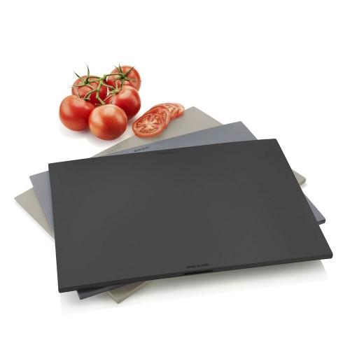 Доски разделочные с подставкой Kitchen, серые