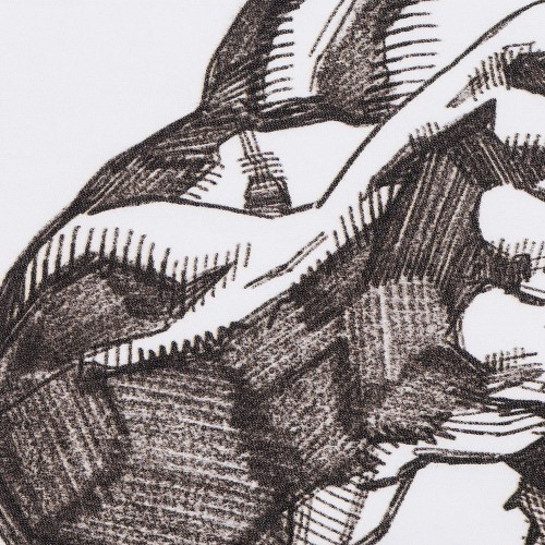 Футболка Hulk Sketch, белая