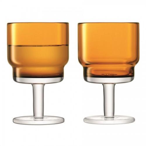 Набор бокалов для вина Utility, оранжевый