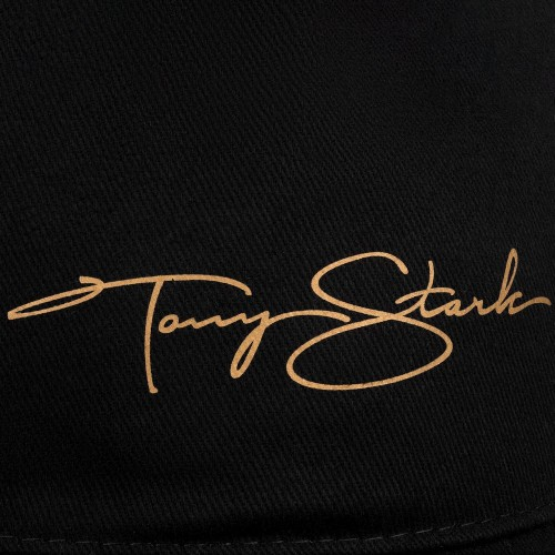 Бейсболка Tony Stark, черная
