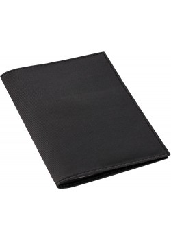 Обложка для автодокументов Twill, черная